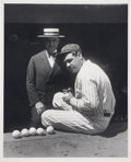 Baseball Collectibles:Photos, 1920's Babe Ruth Photograph from Culver Pictures Archives....