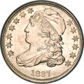 Bust Dimes, 1837 10C MS66 PCGS.CAC....
