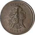 1793 1C Wreath Cent, Lettered Edge MS64 Brown PCGS....(PCGS# 1350)