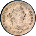 Early Dimes, 1798/97 10C 16 Stars on Reverse MS63 PCGS....