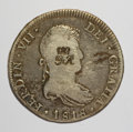 British Honduras, British Honduras: British Colony 6 Shillings Penny counterstamp ND (1810-1818),...