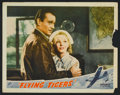 "Movie Posters:War, Flying Tigers (Republic, 1942). Lobby Cards (2) (11"" X 14"") andStill (8"" X 10""). War.. ... (Total: 3 Items)"