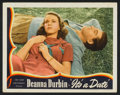 """Movie Posters:Musical, It's a Date (Universal, 1940). Lobby Cards (7) (11"""" X 14""""). Musical.. ... (Total: 7 Items)"""