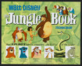 "Movie Posters:Animated, The Jungle Book (Buena Vista, R-1978). Lobby Card Set of 9 (11"" X 14""). Animated.. ... (Total: 9 Items)"