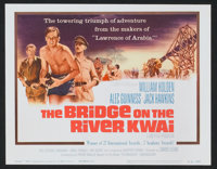 "The Bridge On The River Kwai (Columbia, R-1963). Lobby Card Set of 8 (11"" X 14""). War. ... (Total: 8 Items)"