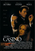 "Movie Posters:Crime, Casino (Universal, 1995). One Sheet (26.75"" X 40"") DS. Crime.. ..."