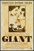 """Movie Posters:Drama, Giant (Warner Brothers, R-1996). One Sheet (27"""" X 40"""") SS. Drama....."""