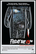 "Movie Posters:Horror, Friday the 13th (Paramount, 1980). One Sheet (27"" X 41""). Horror.. ..."
