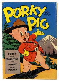 Four Color #48 Porky Pig (Dell, 1944) Condition: VG-