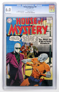 Silver Age (1956-1969):Horror, House of Mystery #88 (DC, 1959) CGC FN 6.0 Off-white to whitepages....
