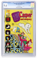 Bronze Age (1970-1979):Cartoon Character, TV Casper and Company #42 File Copy (Harvey, 1973) CGC NM+ 9.6White pages....