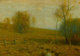 The Hon. Paul H. Buchanan, Jr. Collection  BRUCE CRANE (American, 1857-1937) Late Autumn, circa 1901 Oil on canvas
