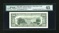 Error Notes:Third Printing on Reverse, Fr. 2077-B $20 1990 Federal Reserve Note. PMG Choice Extremely Fine 45.. ...