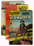 Golden Age (1938-1955):Classics Illustrated, Classics Illustrated Group (Gilberton, 1949-60).... (Total: 10 Comic Books)
