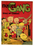 Golden Age (1938-1955):Cartoon Character, Famous Gang Book of Comics #nn (Firestone, 1942) Condition: GD+....