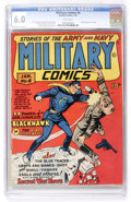 Golden Age (1938-1955):War, Military Comics #6 (Quality, 1942) CGC FN 6.0 White pages. ...