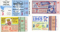 Baseball Collectibles:Tickets, World Series Ticket Stubs Lot of 4....