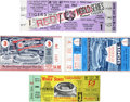 Baseball Collectibles:Tickets, World Series Ticket Stub Collection Of 4....