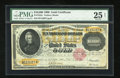 Large Size:Gold Certificates, Fr. 1225c $10000 1900 Gold Certificate PMG Very Fine 25 Net....