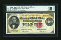 Large Size:Gold Certificates, Fr. 1214 $100 1882 Gold Certificate PMG Extremely Fine 40 EPQ....