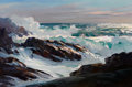 Fine Art - Painting, American:Contemporary   (1950 to present)  , PAUL STRISIK (American, 1918-1998). Seascape. Oil on canvas.20 x 30 inches (50.8 x 76.2 cm). Signed lower right: Stri...