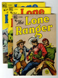 Golden Age (1938-1955):Western, Lone Ranger Group (Dell, 1949-56) Condition: Average VF.... (Total:14 Comic Books)
