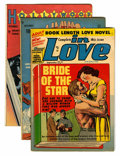 Golden Age (1938-1955):Romance, Miscellaneous Golden Age First Issue Romance Group (VariousPublishers, 1940s-50s) Condition: Average VG+.... (Total: 9 ComicBooks)