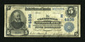 National Bank Notes:Pennsylvania, Clearfield, PA - $5 1902 Date Back Fr. 594 The Clearfield NB Ch. # (E)4836. ...