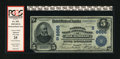 National Bank Notes:Virginia, Richmond, VA - $5 1902 Date Back Fr. 593 National State & CityBank Ch. # 8666. ...