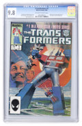 Modern Age (1980-Present):Superhero, Transformers #1 (Marvel, 1984) CGC NM/MT 9.8 Off-white to whitepages....