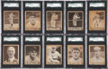 Baseball Cards:Sets, 1940 Play Ball Low- & Middle-Series Near Run (164/180)....