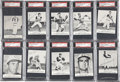 Baseball Cards:Sets, 1962 Kahn's Wieners Baseball Complete Set (38) - #4 on the PSA Set Registry....