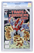 Modern Age (1980-Present):Superhero, Transformers #50 (Marvel, 1989) CGC NM/MT 9.8 White pages....