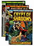 Bronze Age (1970-1979):Horror, Crypt of Shadows #1 and 3-10 Group (Marvel, 1973-74) Condition:Average VG/FN.... (Total: 9 Comic Books)