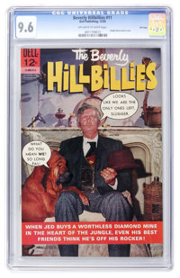 Beverly Hillbillies #11 - File Copy (Dell, 1965) CGC NM+ 9.6 Off-white to white pages