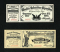 Miscellaneous:Other, 1893 World's Columbian Exposition Chicago Day Oct. 9, 1893 AdultTicket Gem Crisp Uncirculated. World's Columbian Exposition M...(Total: 2 items)