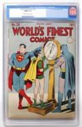 Golden Age (1938-1955):Superhero, World's Finest Comics #20 (DC, 1945) CGC FN/VF 7.0 Cream to off-white pages. ...