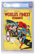 Golden Age (1938-1955):Superhero, World's Finest Comics #17 (DC, 1945) CGC FN/VF 7.0 Off-white pages. ...