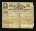 Confederate Notes:1862 Issues, Eleven T42 $2s 1862.. ... (Total: 11 notes)