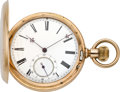 Timepieces:Pocket (pre 1900) , Hi. Perregaux Locle High Grade Gold Detent Chronometer, circa 1885....