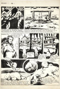 Original Comic Art:Panel Pages, John Coleman Burroughs Unpublished Page Slated for TheFunnies #58 John Carter of Mars page 3 Original Art (c. 194...