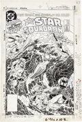Original Comic Art:Covers, Rick Hoberg and Jerry Ordway All-Star Squadron #34 CoverOriginal Art (DC, 1984)....