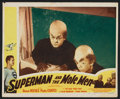"Movie Posters:Action, Superman and the Mole Men (Lippert, 1951). Autographed Lobby Card(11"" X 14""). Action.. ..."