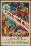 "Movie Posters:Science Fiction, Invaders From Mars (20th Century Fox, 1953). One Sheet (27"" X 41"").Science Fiction.. ..."