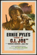 """Movie Posters:War, The Story of G.I. Joe (United Artists, 1945). One Sheet (27"""" X41""""). War.. ..."""