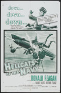 "Movie Posters:War, Hellcats of the Navy (Columbia, 1957). One Sheet (27"" X 41""). War.. ..."
