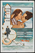 "Movie Posters:Romance, The Key (Columbia, 1958). One Sheet (27"" X 41""). Romance.. ..."