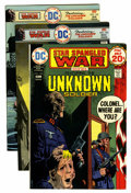 Bronze Age (1970-1979):War, Unknown Soldier Group (DC, 1974-80) Condition: Average VF/NM.... (Total: 12 Comic Books)