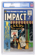 Golden Age (1938-1955):Horror, Impact #3 Gaines File pedigree 1/12 (EC, 1955) CGC NM- 9.2 Cream tooff-white pages. ...