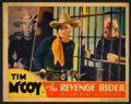 """Movie Posters:Western, Tim McCoy Lot (Various, 1933-1939). Lobby Cards (4) (11"""" X 14""""). Western.. ... (Total: 4 Items)"""
